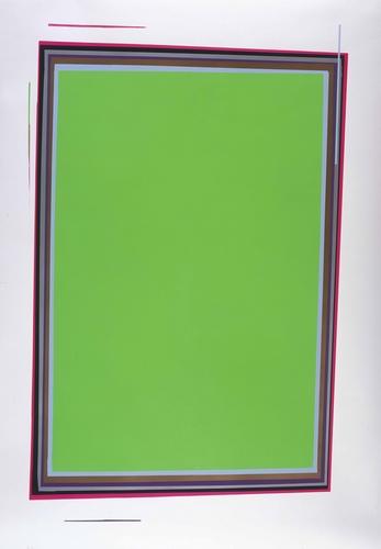Ohne Titel (grün), 2005
