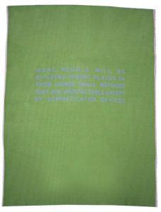 Ohne Titel (grün), 2003