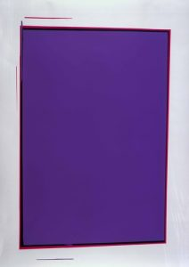 Ohne Titel (violett), 2005