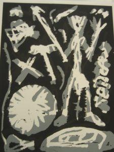 Paar (grau-schwarz), 1991