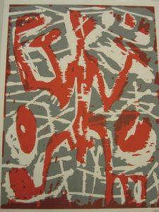 Paar (rot-grau), 1991